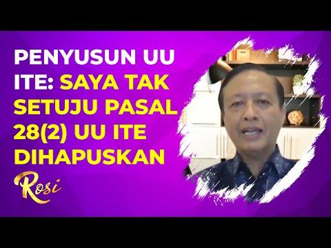 Prof. Henry Subiakto Tak Setuju Pasal 28 Ayat (2) UU ITE Dihapuskan, Mengapa? | ROSI