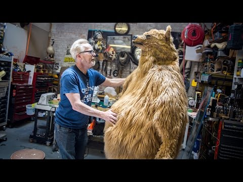 Adam Savage&#39s One Day Builds: Bear Costume!
