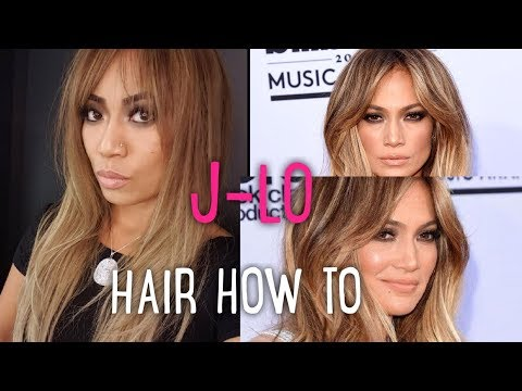 how to do JLO's hair