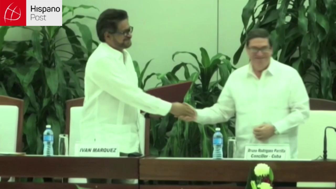 Colombia publicó este lunes el nuevo acuerdo de paz con las FARC