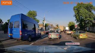 На въезде в Николаев со стороны Одессы многокилометровая пробка