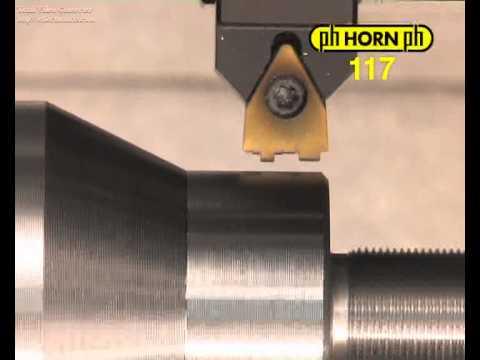 Utensili sagomati a inserto per la tornitura di gole di forma - Horn S117