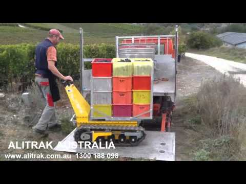 Alitrak Australia DCT300 - Vinyard Application