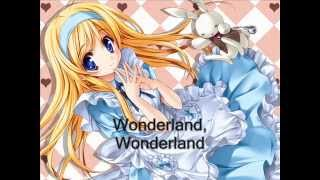 Nightcore - Wonderland (Male Version Lyrics)