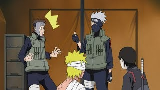 Kakashi Gets Shocked when He Heard that Naruto Met Fourth Hokage  Minato   Naruto Shippuden