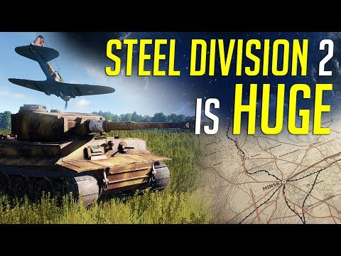Steel Division 2 is HUGE! - Beta Gameplay & Review