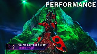 """Ladybug sings """"Holding Out For A Hero"""" by Bonnie Tyler 