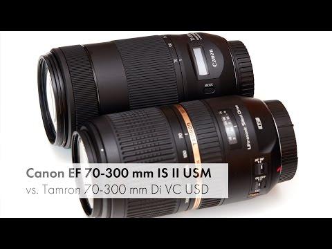 Canon EF 70-300 mm IS II USM | Test und Vergleich mit dem Tamron SP 70-300 mm [Deutsch]