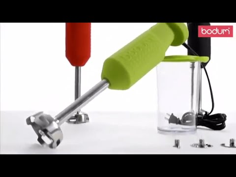 Bodum - Youtube video about the Bistro Hand Blender