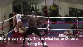 Девид Хэй   Деонтей Уайлдер David Hey  Deontay Wilder sparring