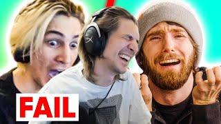 Reacting to Linus react to my PC Build TRAINWRECK!