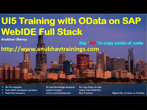 SAP UI5 & Fiori training for functional consultants and ABAP ...