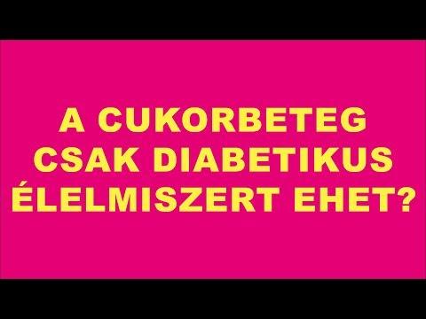 Értekezését a 2. típusú cukorbetegség