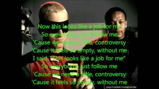 Without Me by Eminem Lyrics (Explicit)