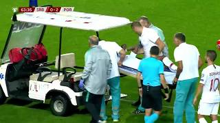 Serious Injury Of Semedo With Portugal