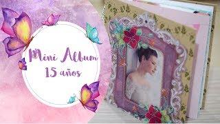 Mini Album De Fotos 15 Años /quinceañera DIY Scrapbook