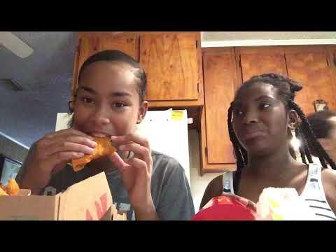 Muckbang *KERRIA GOT A BF😳🤯*   vlog 19