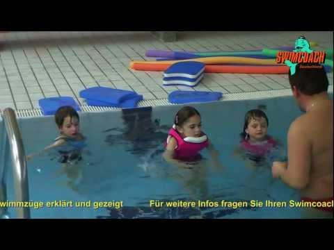 Swimcoach - der schwimmende Badeanzug - Schwimmen lernen mit Spaß und großer Sicherheit