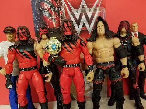 WWE Kane Figure Collection!