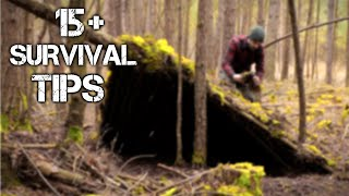 15 Wilderness Bushcraft Skills For Surviving 100 Days Alone In The Wild | Brought To You By History