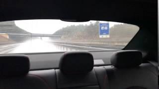 C45 AMG | Deutsche Autobahn | 180 Km/h & extremer Regen #3