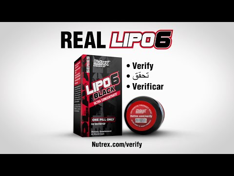 Nutrex Research, LIPO-6 Black Hers, Ultra Concentrate, 60 Black-Caps