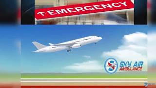 Hi-tech Medical Services in Sky Air Ambulance from Bhubaneswar
