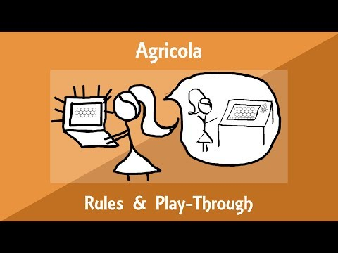 Agricola Rules Explanation/Play-Through