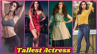 10 Tallest Actresses of Bollywood   Deepika Padukone, Kriti Sanon, Ananya Panday, Katrina Kaif,Sonam