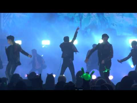 B.A.P Live on Earth 2016 in Chicago - What the Hell