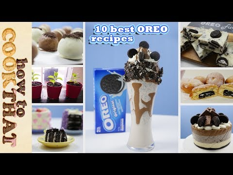 Video Top Ten Best OREO Recipes in 10 minutes | How To Cook That Ann Reardon