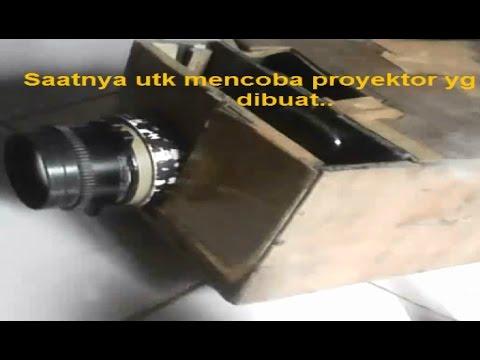 Video Cara membuat projector dari Hp