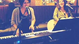 Bad Moon Rising cover by Danielle and Jennifer