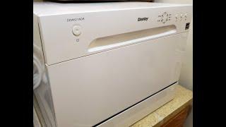 Danby Countertop Dishwasher Review for model no DDW621WDB.