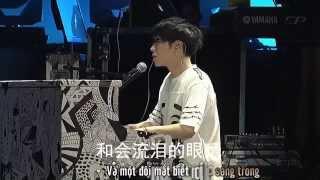[Vietsub Live] Ánh sao sáng nhất bầu trời đêm - Hoa Thần Vũ | 华晨宇《夜空中最亮的星》Mars concert 2015