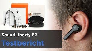 Taotronics SoundLiberty 53 im Test - InEar TWS Bluetooth-Kopfhörer mit Ladeschale und Touch