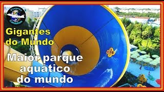 preview picture of video 'Maior parque aquático do mundo - Chimelong Water Park'