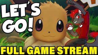 Beating Pokemon Let's Go IN ONE DAY! Complete Pokemon Let's Go Playthrough Livestream!