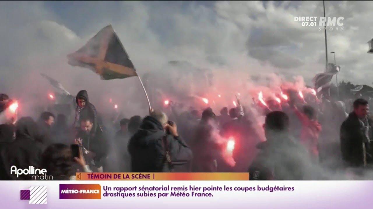 Bus caillassé à Montpellier... les incidents se multiplient entre supporters de football