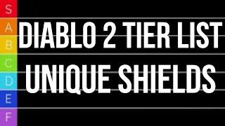 Diablo 2 TIER LIST - Unique Shields