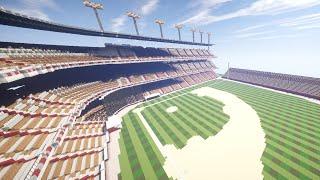 Vexel Design Timelapse - Baseball Stadium