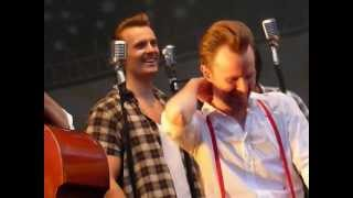The Baseballs@Magdeburg 20.07.2012 Hard not to Cry + Follow me (with special guest)