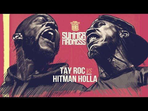 Hitman Holla Vs Tay Roc Smack Rap Battle Urltv