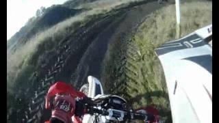 Dan Smith # 85  - Donk Track 13.11.11 - 2012 Husqvarna TE310 Test Ride - GO PRO HD HERO