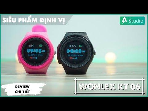 Đồng hồ định vị trẻ em Wonlex KT06| Bảo vệ an toàn cho trẻ nhỏ