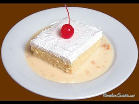 Como Hacer un Delicioso Postre Tres Leches - Hogar Tv  por Juan Gonzalo Angel