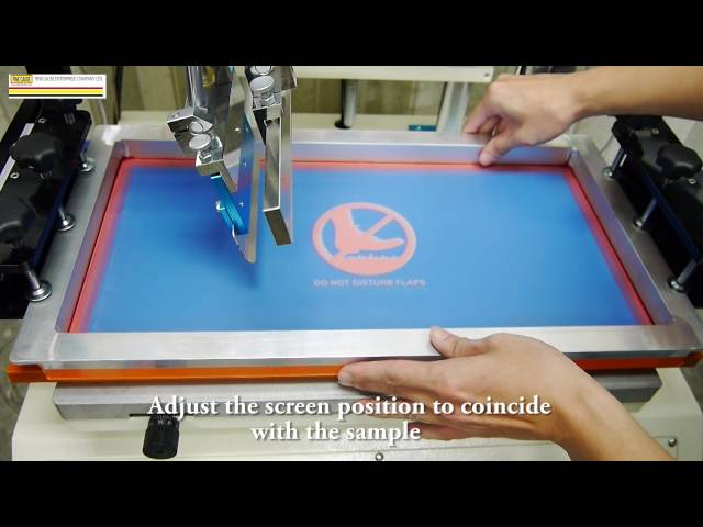 FA-400/500/600TSN Servo Motor Screen Printer - Tutorial Video