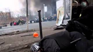 Украина Киев Расстрел людей на Майдане
