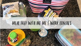 MEAL PREP | WORK LUNCHES