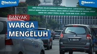 Sistem Ganjil Genap Mulai Berlaku di Jakarta, Banyak Pengendara Mengeluh